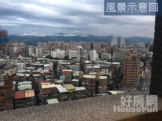 特區F1遠眺山景 新板車站海山學區採光高樓裝潢佳