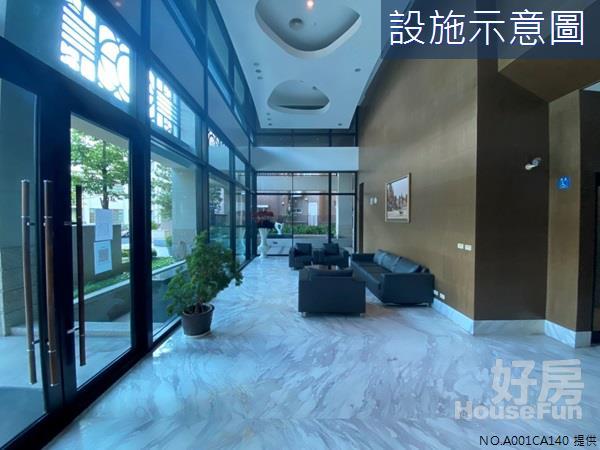 好房網租屋-寓上逢甲近中央公園優質小豪宅車位照片14